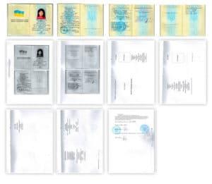 Перевод украинского паспорта с нотариальным заверением
