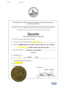 Апостиль и легализация документов из США для России